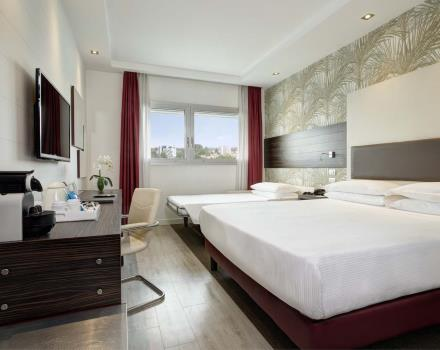 BW Plus Quid Hotel Venice - Rooms - Executive with open sofa bed