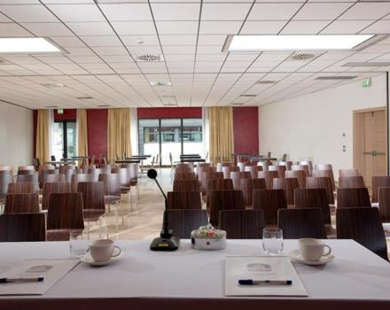 Discover the conference rooms in the Best Western Plus Quid Hotel Venice Airport and organize your events in Venice Mestre
